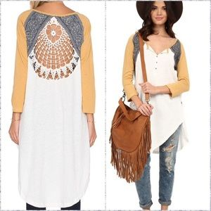 FREE PEOPLE ~ ROAD TRIP HENLY TUNIC ~M